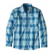 PATAGONIA Рубашка Sun Stretch Shirt #Underwater Blue р.M