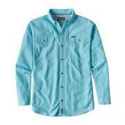 PATAGONIA Рубашка Sol Patrol II Shirt L/S #Tubular Blue р.XL