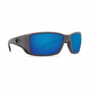 Costa Blackfin 580 P (Matte Gray/Blue Mirror, Large)