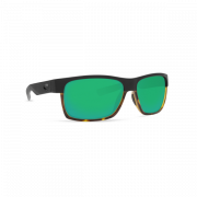 Costa Half Moon 580 P (Matte Black/Shiny Tortoise/ Green Mirror, Large)