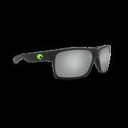 COSTA Очки Half Moon, 580P #Matte Black w/Green Logo/ Gray Silver, L