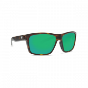 Costa Slack Tide 580 P (Matte Tortoise/ Green Mirror, Large)