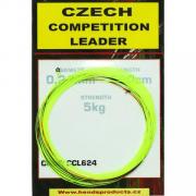 HENDS Подлесок Czech Competition Leader 600 cm / 5 kg 0,24 mm Fl. Yellow bicolour idicato