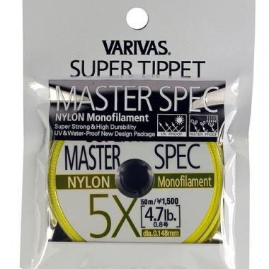 VARIVAS Поводковый материал SUPER TIPPER MASTER SPEC, 0X