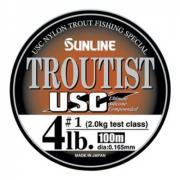 TROUTIST USC (монолеска) 100M 2.5LB/#0.7