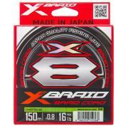 YGK Шнур плетеный  X-Braid Braid Cord X8 (150m)