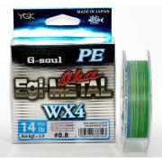 YGK Шнур плетеный G-Soul Egi-Ika Metal WX4 (150m)
