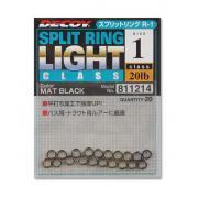 DECOY Заводные кольца Split Rinng #Black