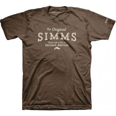 SIMMS Футболка The Original T-Shirt #Brown