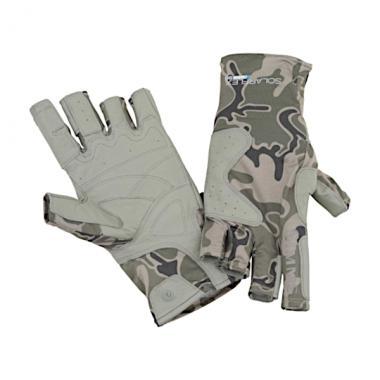 SIMMS Перчатки Solarflex Guide Glove #Tongass Camo Tumbleweed