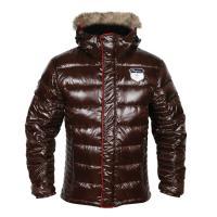 Bodo Down куртка мужская (S, Dk Brown)