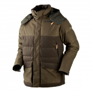 Expedition down jacket Hunting green/Shadow brown 54