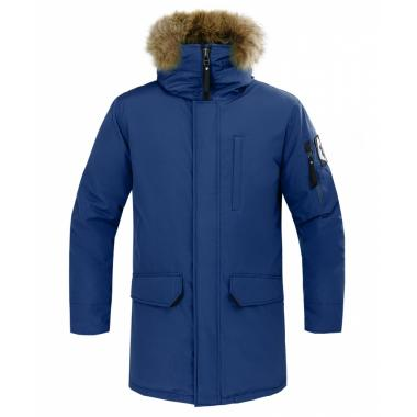 Куртка пуховая Nanook (9900/черно-синий)