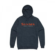 SIMMS Толстовка Logo Hoody #Navy Heather