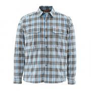 SIMMS Рубашка Coldweather LS Shirt #Tidal Blue