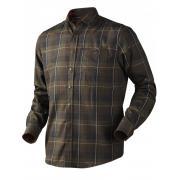 HARKILA Рубашка Latlan Shirt Jacket #Hunting Green Check р.XL
