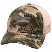SIMMS Кепка Salmon Icon Trucker #Hex Camo Timber