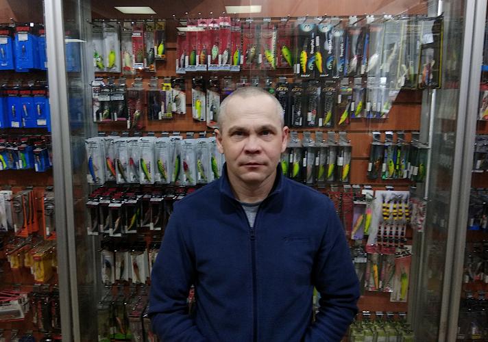 Макаров Сергей, эксперт по ловле спиннингом.